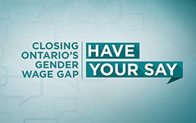 Gender Wage Gap in Ontario