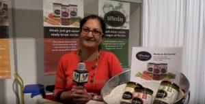 Seema Pubari promoting Tiffenday products