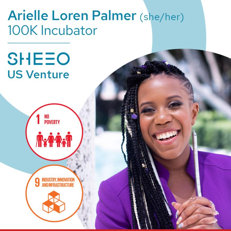 picture of black woman entrepreneur who received SheEO funding