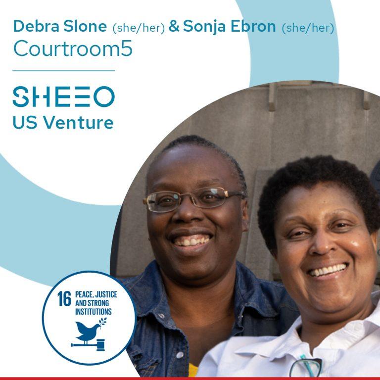 Debra Stone (she/her) & Sonya Ebron (she/her), Courtroom5