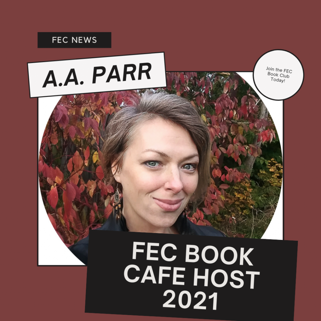 Image of A.A. Parr, host of the FEC Book Cafe