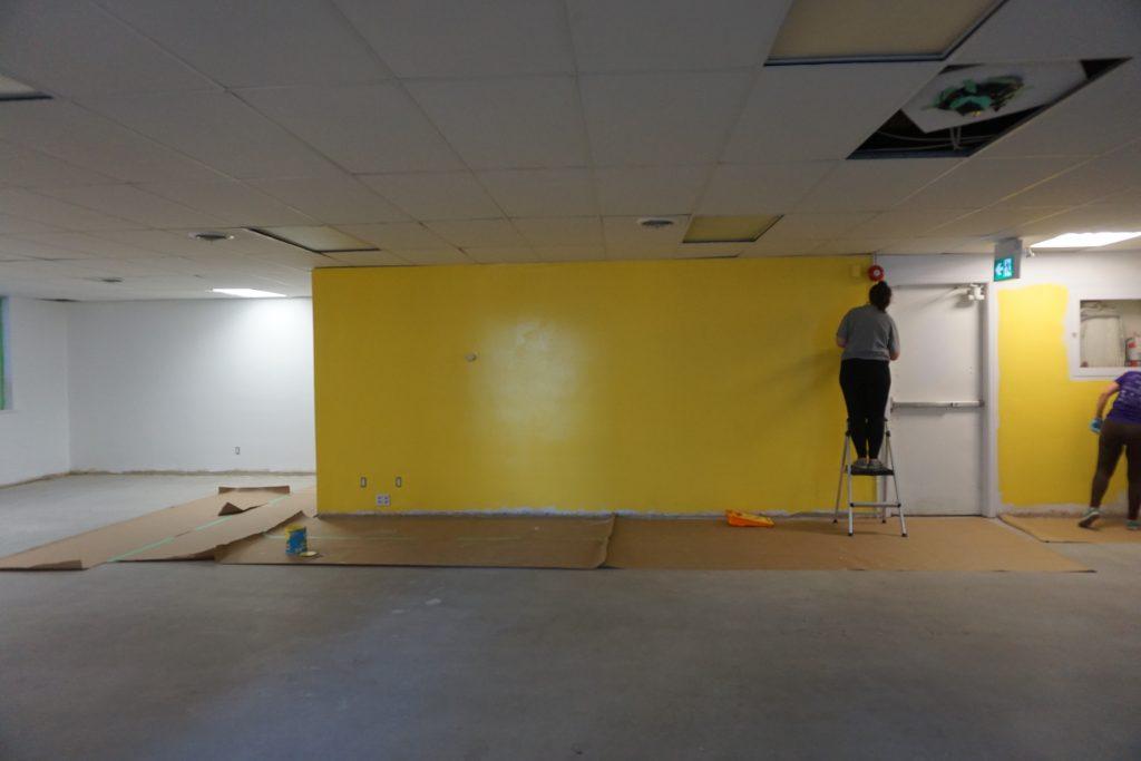 Make Lemonade Painting Walls